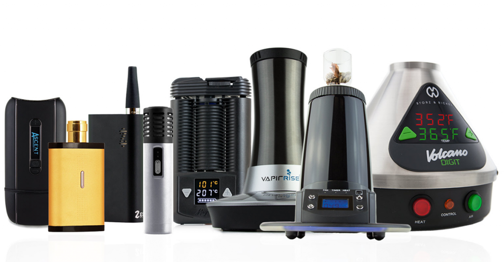 dry herb vaporizer types