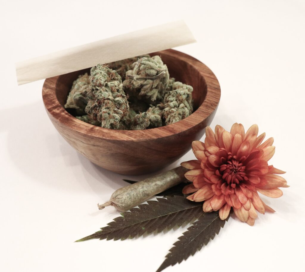 marijuana strain flowers