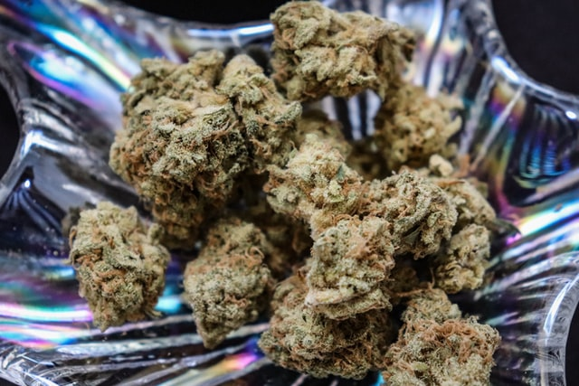 Afghan kush marijuana strain flower